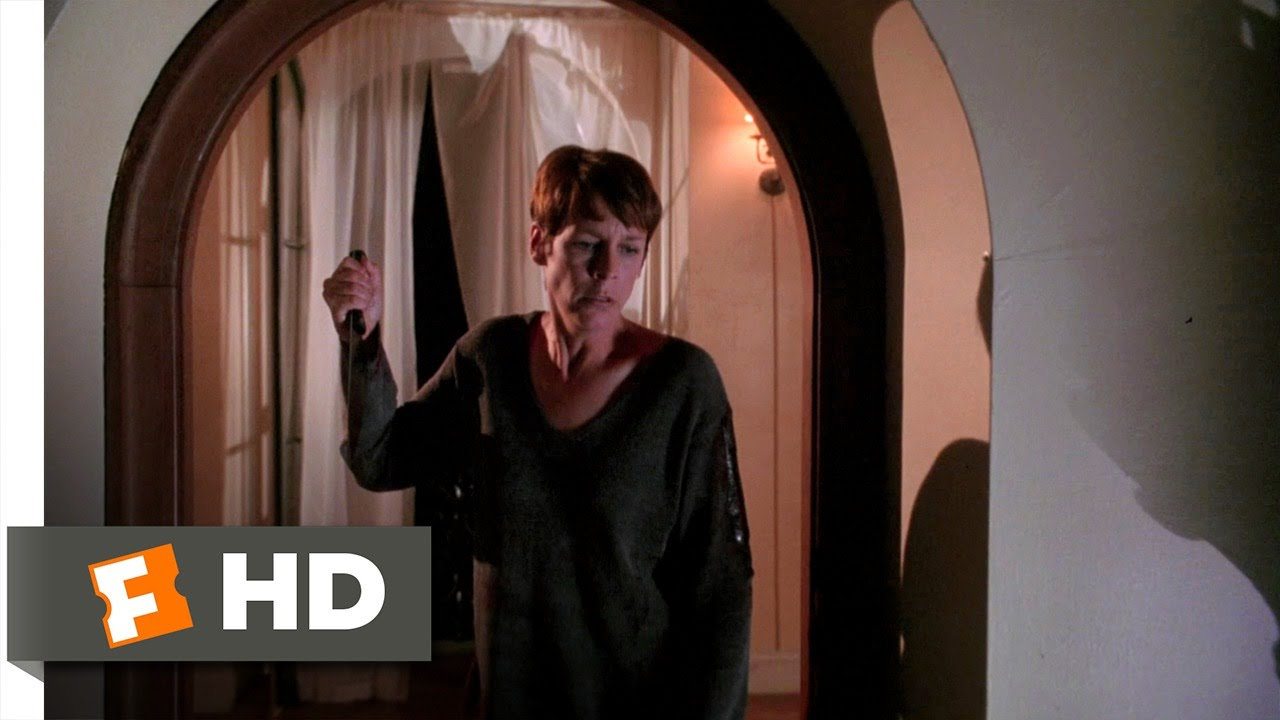 Halloween H20: 20 Years Later (11/12) Movie CLIP - Laurie Fights ...