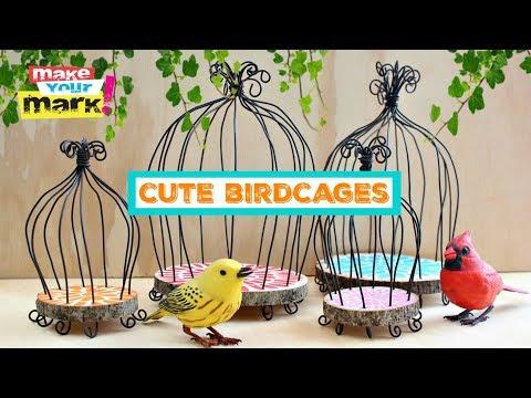 Cute Birdcage DIY