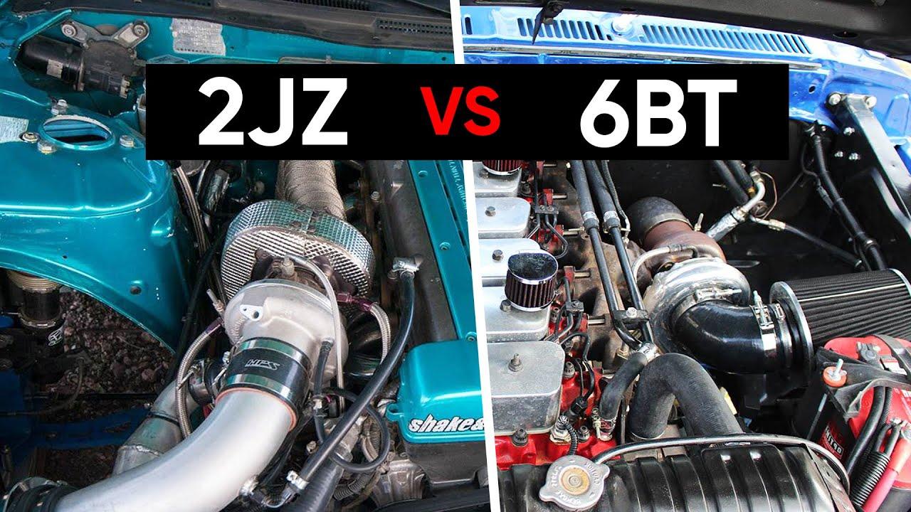 Cummins 6BT vs  Toyota 2JZ-GTE: Which Is Better? | DrivingLine