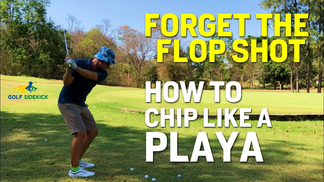 How to Chip a Golf Ball Like a Boss - FORGET THE FLOP SHOT ...