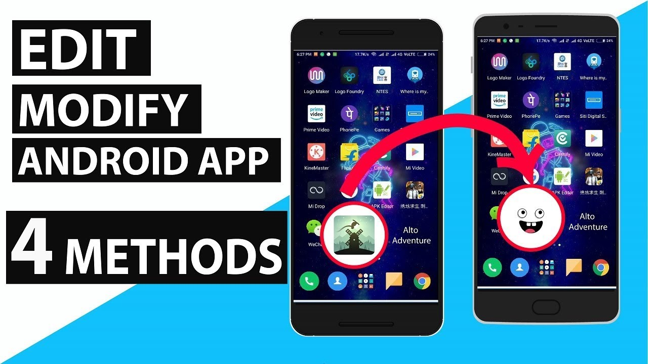 Edit Modify Android Apps For Free Android Studio Apk Easy Tool