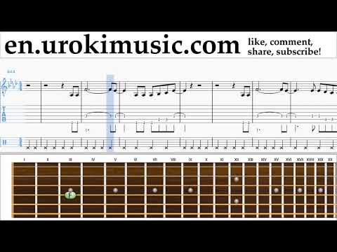 How to Play Guitar P!nk - What About Us Tabs Part#2 um-i352