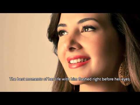 Donia Samir-A Winter's Story / Arabic Song (English Subtitles)-دنيا سمير-قصة شتا
