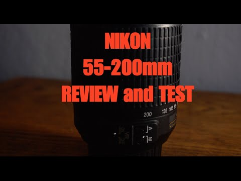 NIKON 55-200mm REVIEW AND TEST! BEST ZOOM LENS!