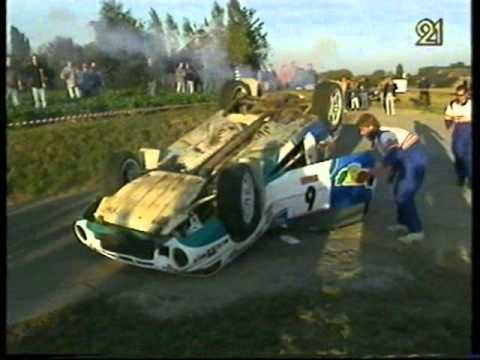 Alain Vandy: Mazda 323 GTR Gr.A - Rallye de Sombreffe 1995