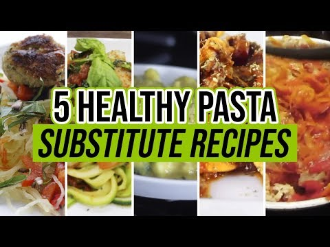 5 Best Healthy Pasta Substitute Recipes (IS PASTA BAD FOR YOU?) | LiveLeanTV