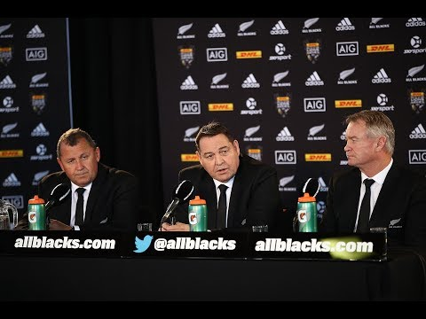All Blacks squad announced for DHL Lions Series