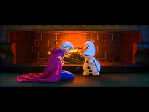 Disney's Frozen - Olaf Explains Love to Anna