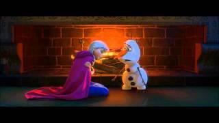 disney s frozen olaf explains love to anna