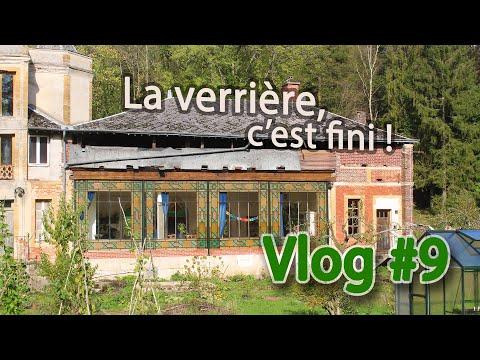 Fin de la rénovation extérieure de la verrière. Vlog #9 rénovation