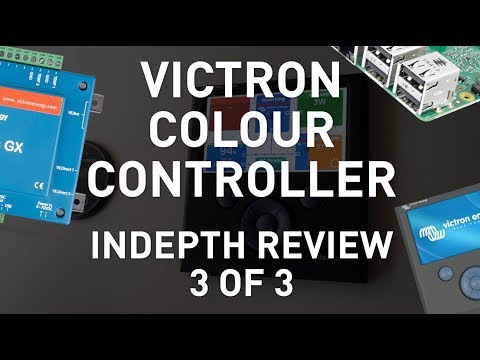 Victron Colour Controller Part 3 : Software & Cheaper Altern