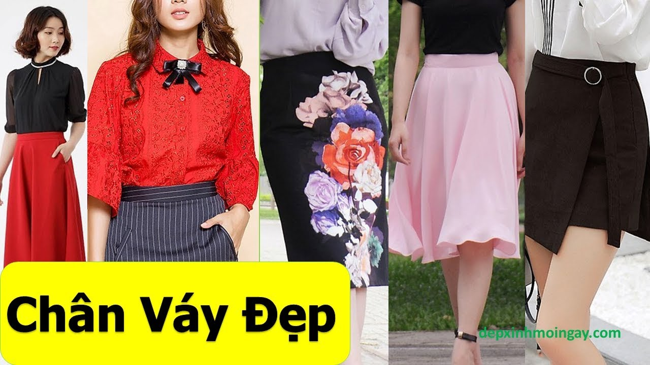 50 mẫu chân váy đẹp thời trang được ưa chuộng T9