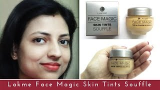 Lakme Face Magic Skin Tints Souffle | Review in Hindi | Giveaway
