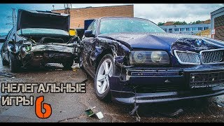 BMW e38 vs. Mercedes w140 - дерби без правил