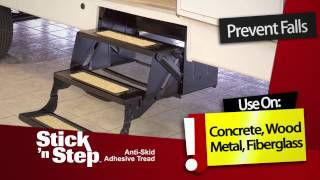 Stick 'n Step Anti Slip Adhesive Safety Tread
