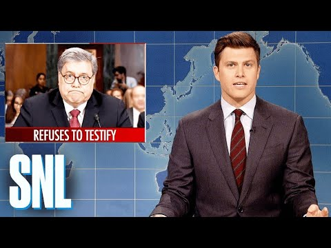 Weekend Update: William Barr's Senate Testimony – SNL