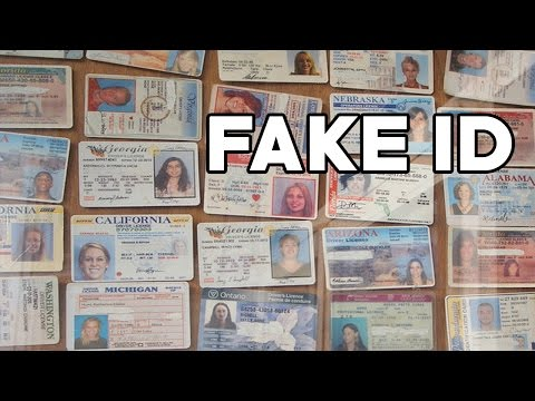 MAKING FAKE ID'S
