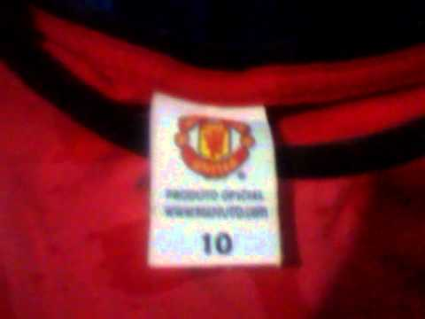 Minha camisa do manchester united