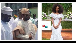 GHANA'S BECCA MARRIES NIGERIAN MILLIONAIRE, TOBI IN A STYLISH WEDDING CEREMONY