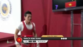 THACH Kim Tuan 1j 152 kg cat. 56 World Weightlifting Championship 2013