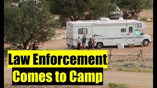 Forest Service Police have questions, Rules for camping on BLM and National Forest land.
