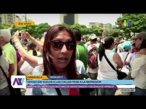 En vivo todo lo que acontece en Venezuela 20/04/2017