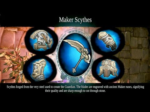 Maker Armor Set and Scythe Location (The Foundry) - Darksiders 2 Deathinitive Edition