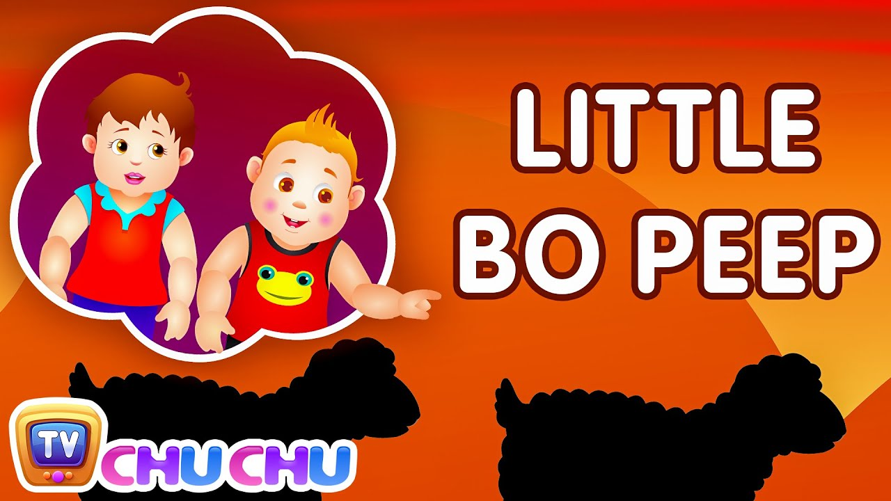 Little bo peep Nursery Chu Chu Tv Rhymes