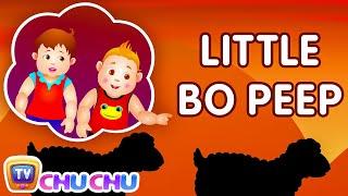 Little Bo Peep Has Lost Her Sheep Nursery Rhyme - ChuChu TV Kids Songs