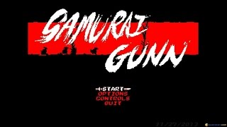 Samurai Gunn gameplay (PC Game, 2013)