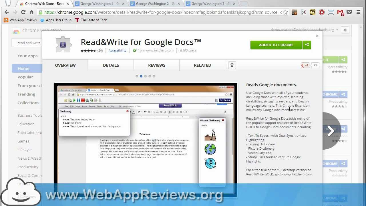 Read&Write for Google Docs - Chrome Extension Review