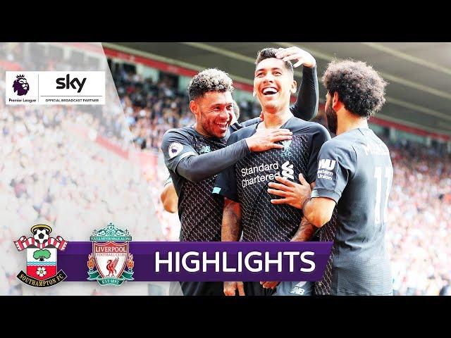 Trotz Adrian-Bock: Zittersieg für Klopp   Southampton - Liverpool 1:2   Highlights - Premier League
