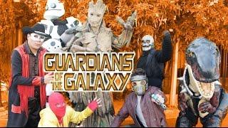 Guardianes de la Galaxia ayudan a Manito y Maskarin / Guardians of the galaxy