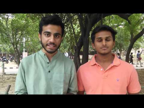 Delhi Uni male students want safe campus for girls