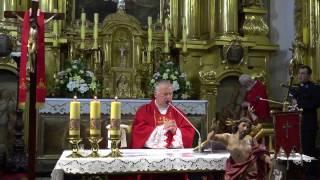 Uroczysta Msza odpustowa dla Kominiarzy w święto św. Floriana