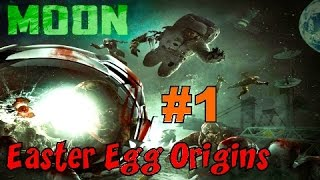 CoD Zombies EASTER EGG ORIGINS - MOON! (Part 1)▐ Call of Duty Black Ops Zombies Map
