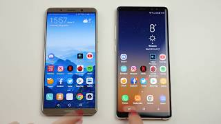 Porównanie: Samsung Galaxy Note 8 vs Huawei Mate 10 Pro / comparison