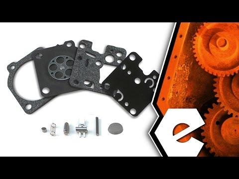 Trimmer Repair - Rebuilding the Carburetor (Echo Part # P005001670)