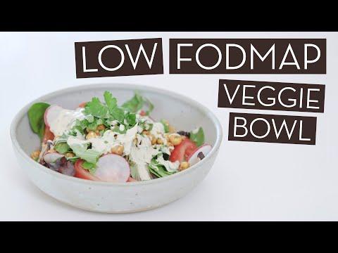 A Dietitian's Low FODMAP Veggie Bowl Recipe}