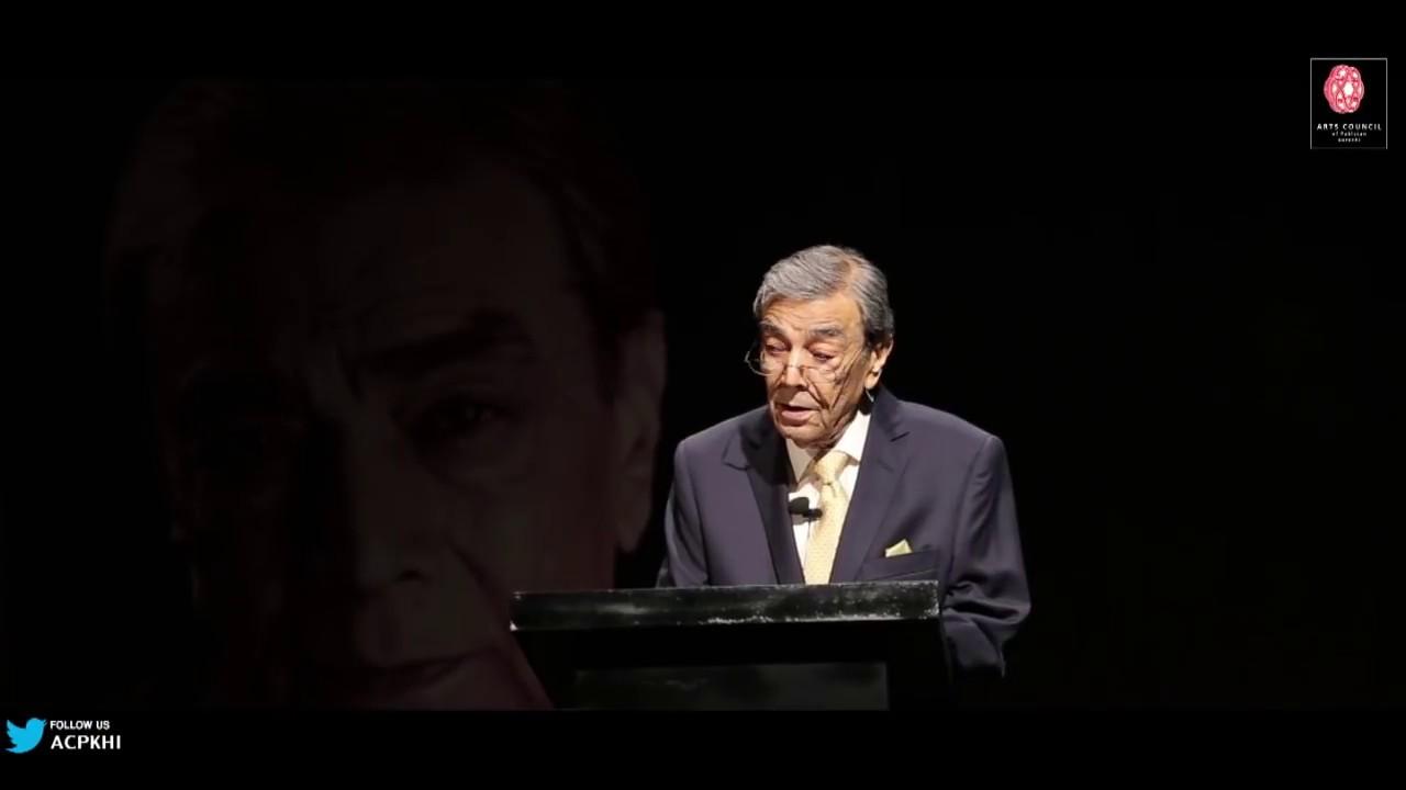 Tribute to Mushtaq Ahmad Yusufi | Zia Mohyeddin | Arts Council | Ahmed Shah | Poetry | Satire