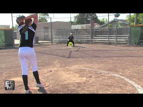 2015 Shelby Rae Clemons Pitcher/First Base Softball Skills Video