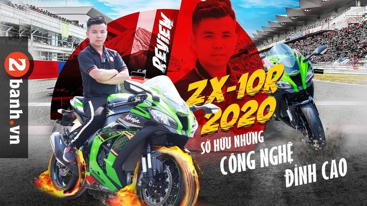 Đánh giá Kawasaki Ninja ZX-10R 2020 với nhiều công nghệ đỉnh cao   2banh Review