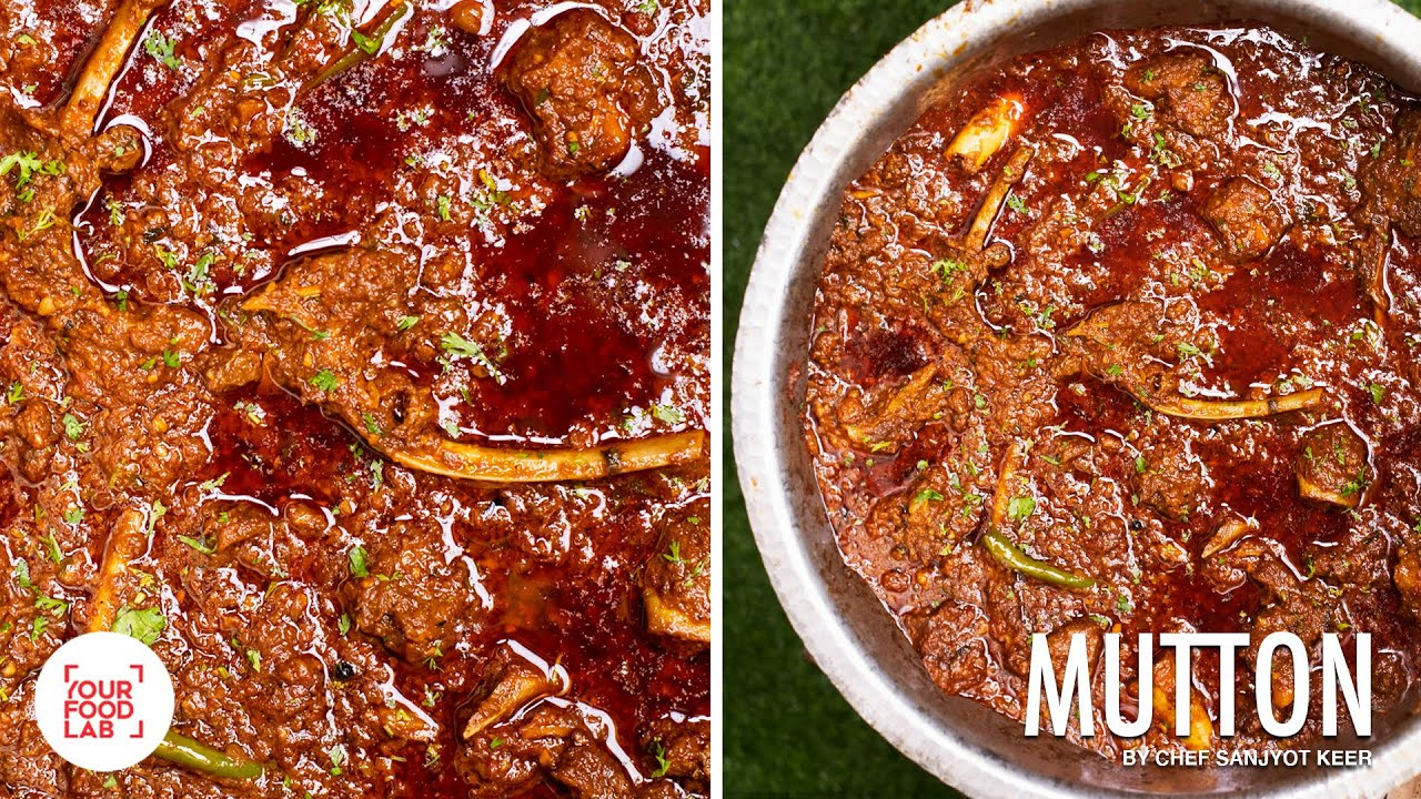 Home Style Punjabi Mutton Masala Recipe | My Father's special recipe | Chef Sanjyot Keer