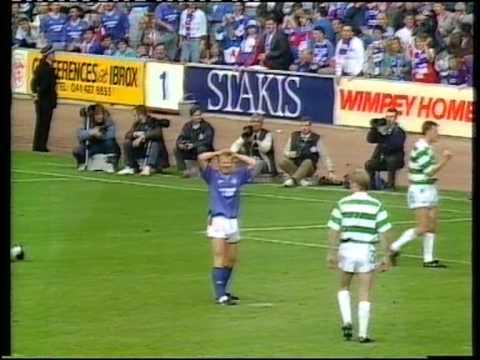 Rangers v Celtic Scottish Premier Division 1990-91