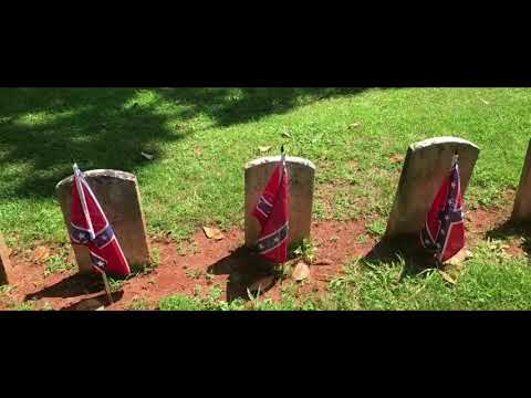 Confederate cemetery at Appomattox Courthouse National Historic Park