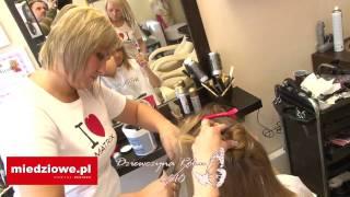 Dziewczyna Maja 2010 - fryzury ślubne w Noemi