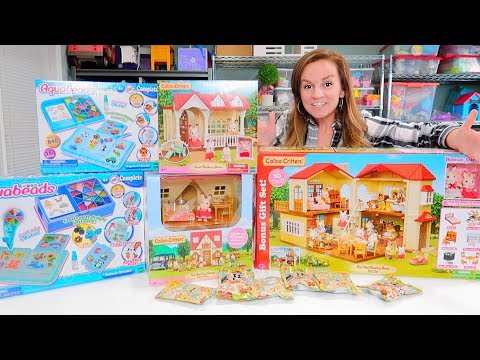 HUGE Calico Critters Playsets Unboxing!
