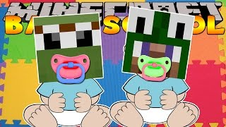 Minecraft Baby Daycare - OUR FIRST DAY! w/ LittleCarly