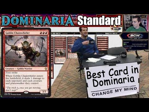 Goblin Chainwhirler is the Best Card in Dominaria - Change My Mind