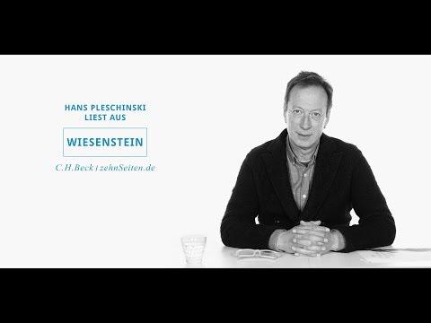 """Hans Pleschinski liest """"Wiesenstein"""""""